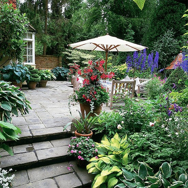 garden design ideas patios photo - 4