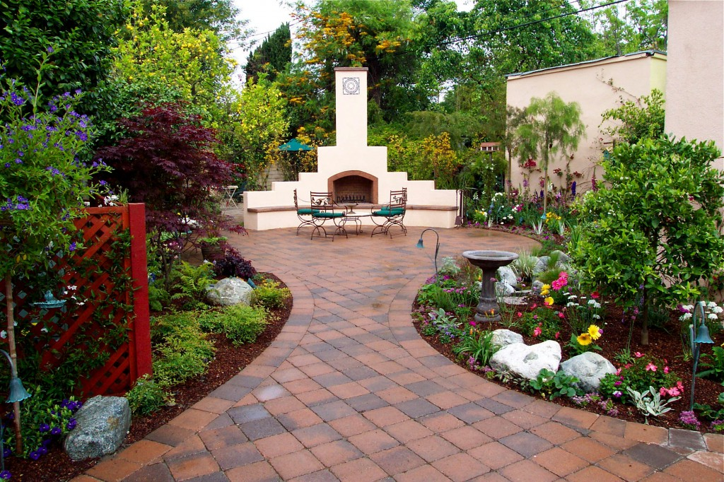 garden design ideas patios photo - 5
