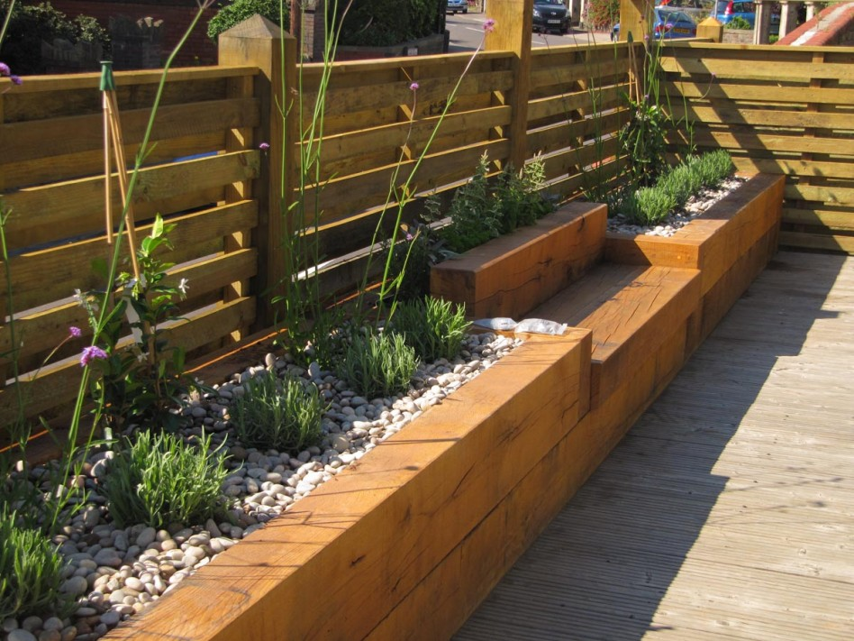 garden design ideas raised beds photo - 4