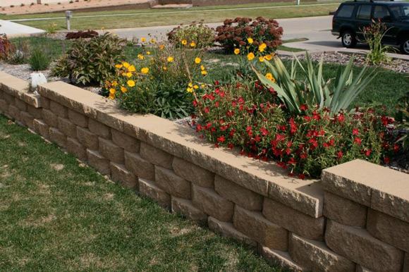 garden design ideas retaining walls photo - 1