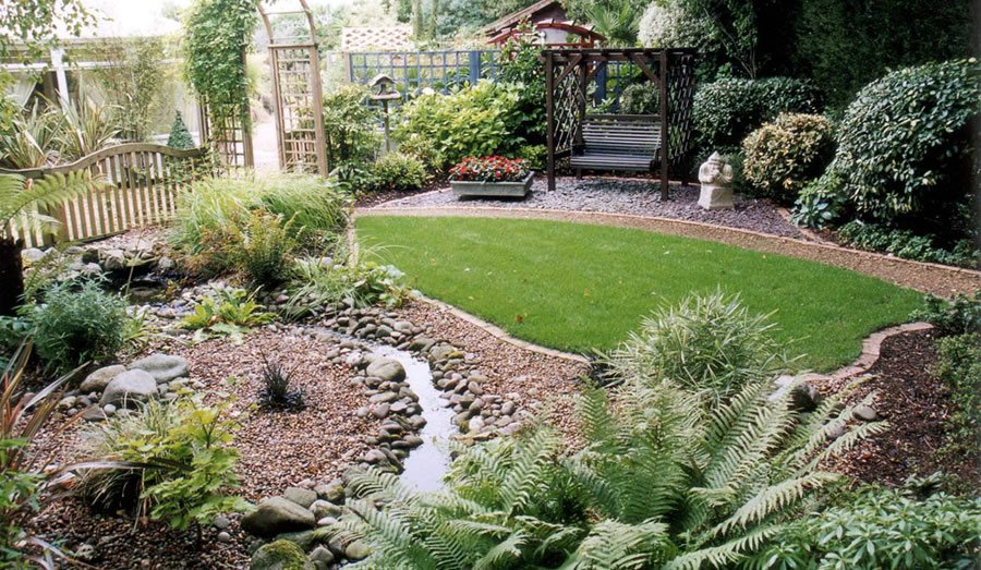 garden design ideas small gardens photo - 1