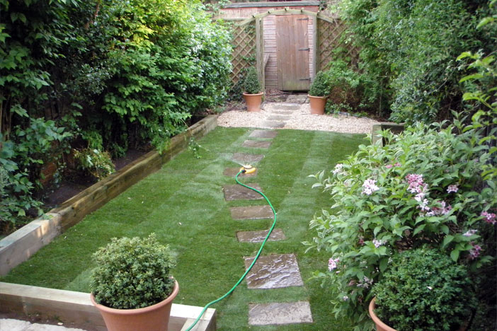 garden design ideas small gardens photo - 2