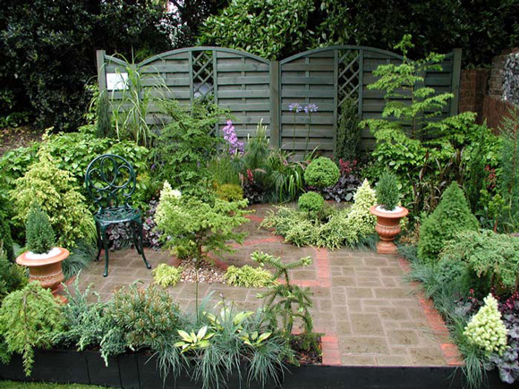 garden design ideas small gardens photo - 3