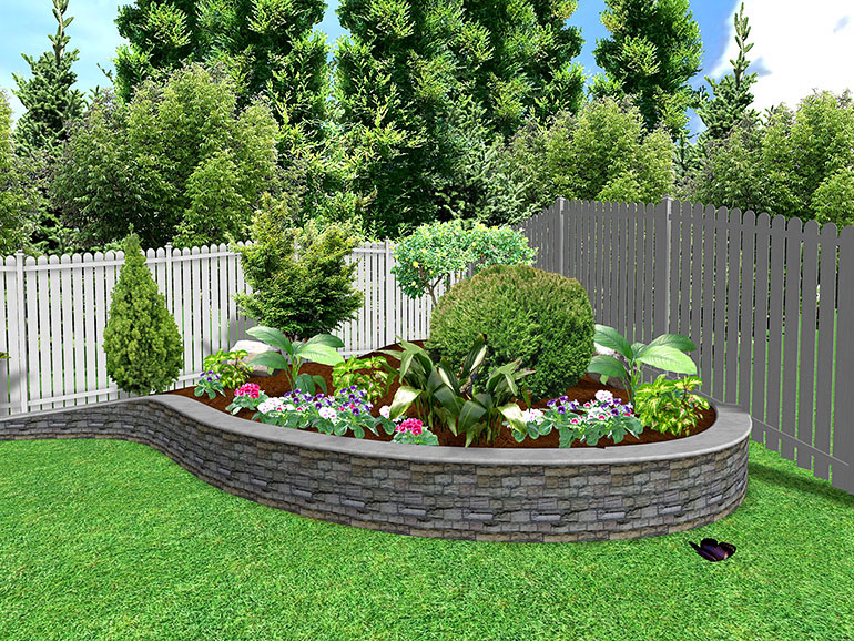 garden design ideas small gardens photo - 5