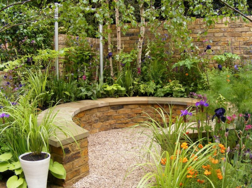 garden design ideas small gardens photo - 6