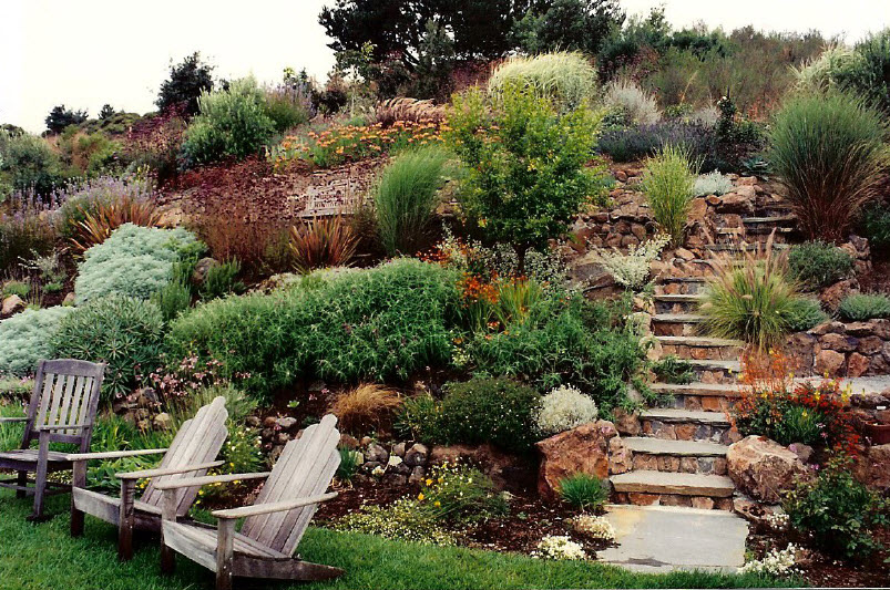 Garden Design On A Slope garden design ideas steep slope | interior & exterior doors