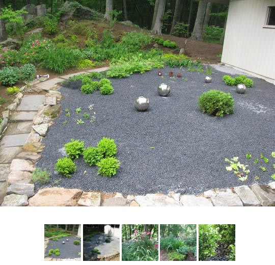 Garden gravel 17 best images about japanese gardens on for Garden designs using pebbles