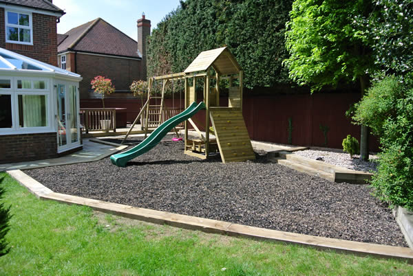 10 garden with playground design ideas interior for Garden area ideas