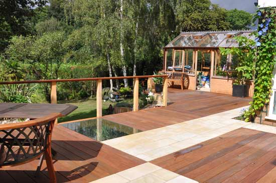 garden design ideas with decking photo - 6