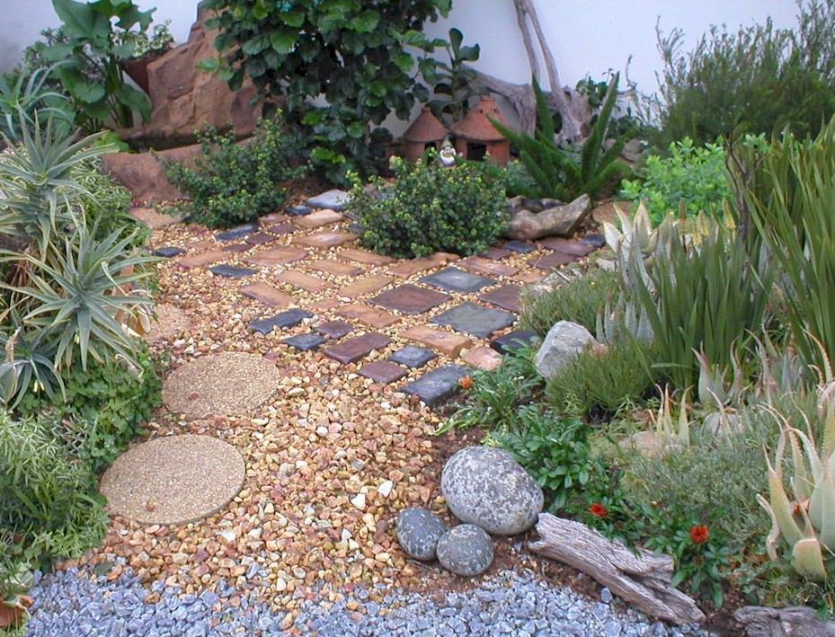 Superb Garden Design Ideas With Stones
