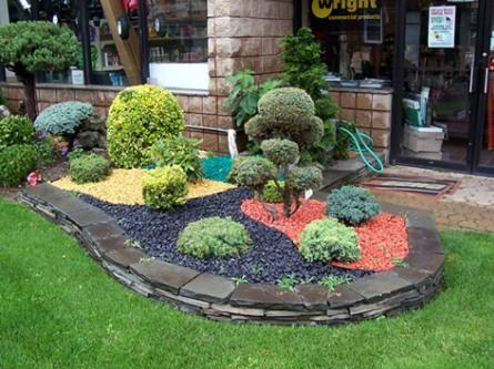 Good Garden Design Ideas With Stones Photo 2