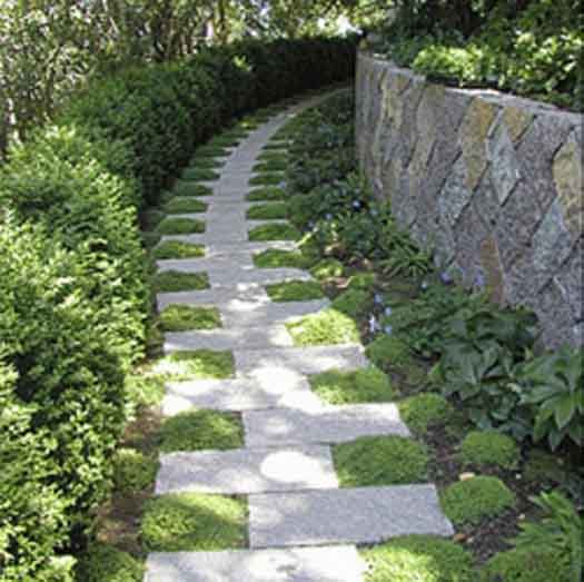 garden design ideas with stones photo - 3