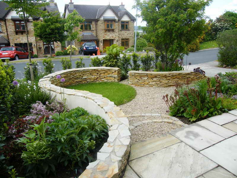garden design ideas with stones photo - 4