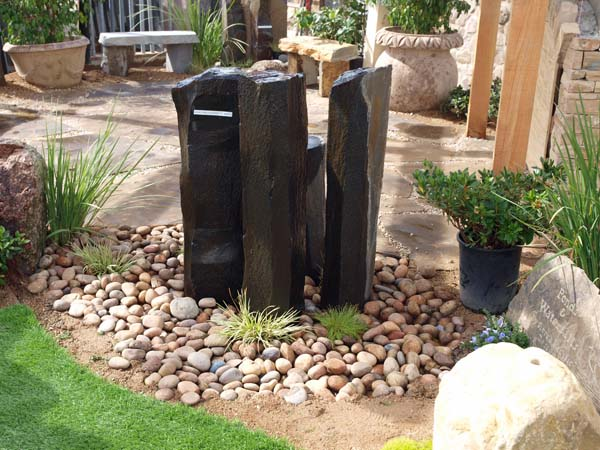 garden design ideas with stones photo - 5