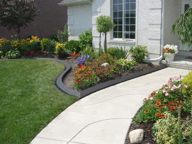 garden edging design ideas photo - 2