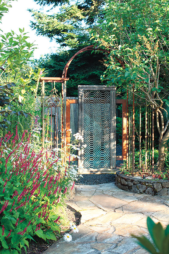 Garden entrance ideas garden entrance design ideas home for Garden entrance ideas