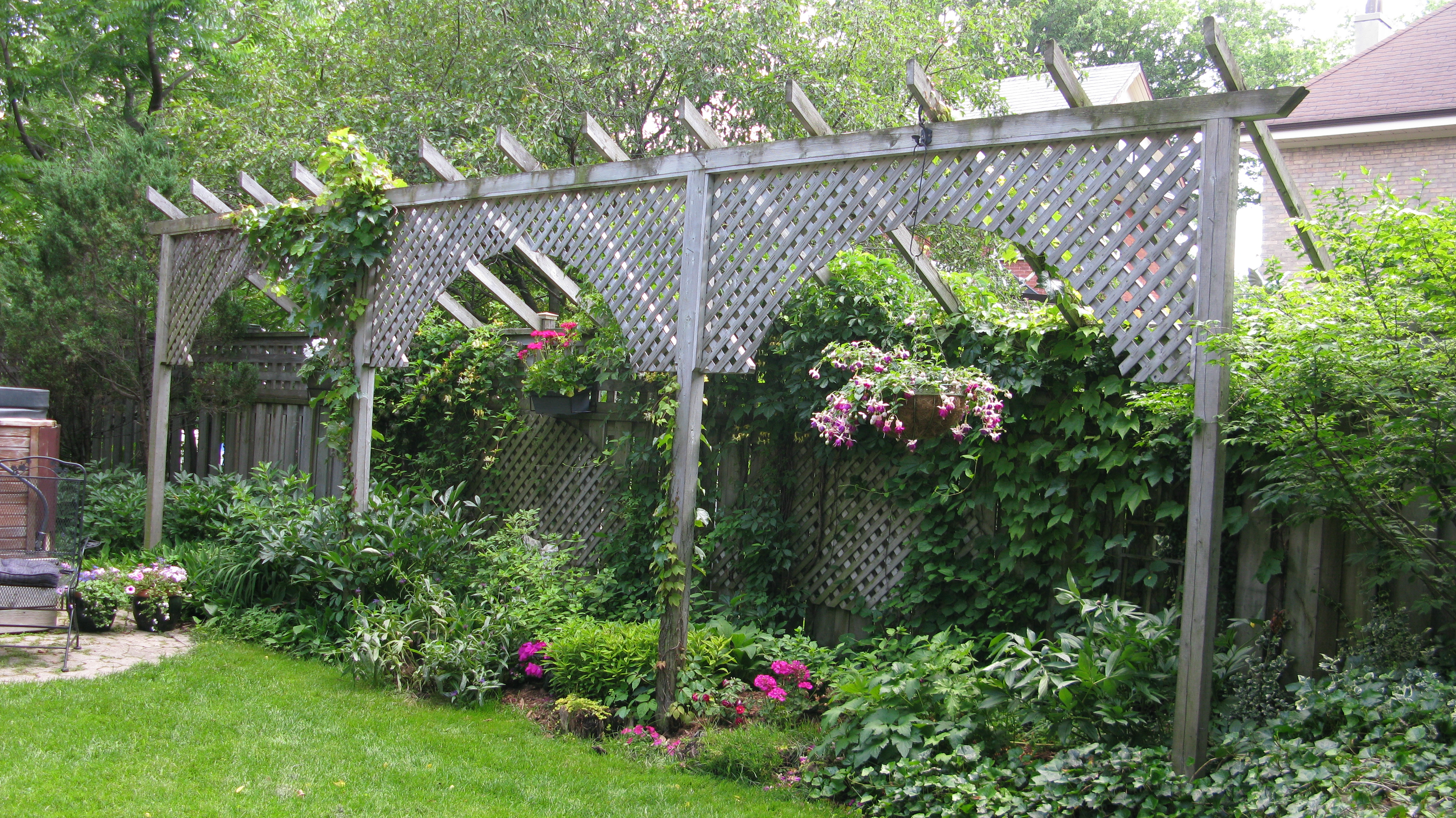 garden fencing ideas privacy photo - 1