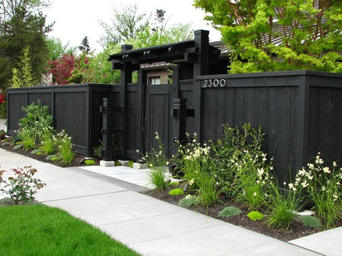 garden fencing ideas privacy photo - 4
