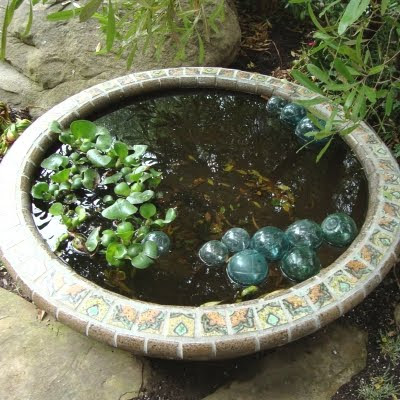 garden fountain ideas diy photo - 2