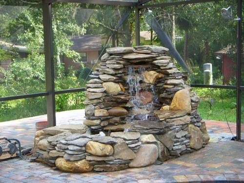 garden fountain ideas uk photo - 6