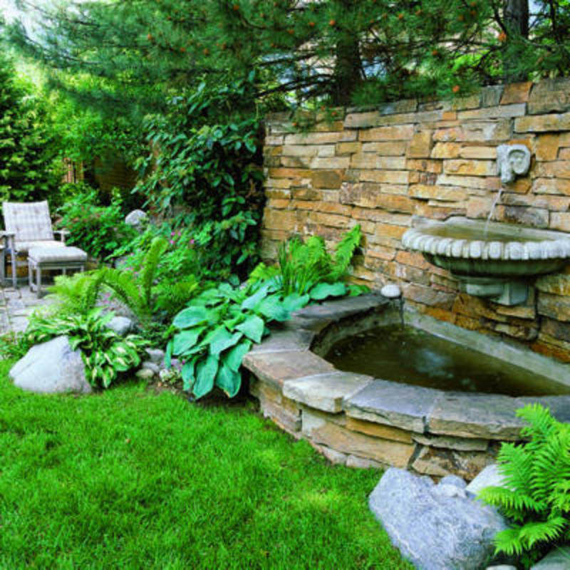 garden fountains ideas photo - 3