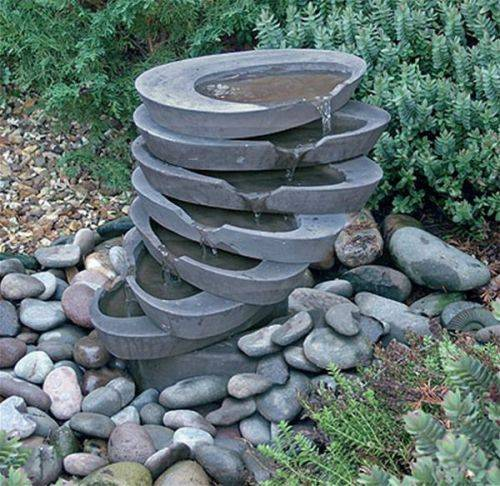 garden fountains ideas photo - 4