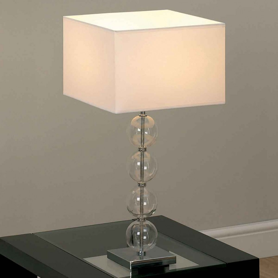 glass bedroom lamp photo - 6
