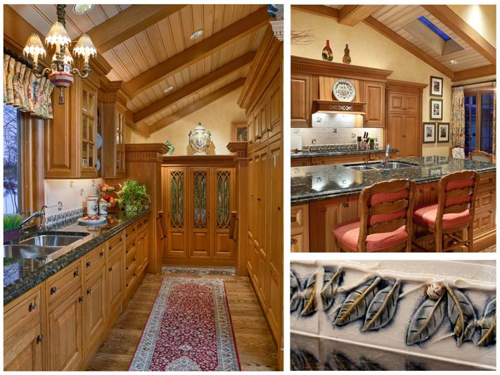 gourmet country kitchen designs photo - 3