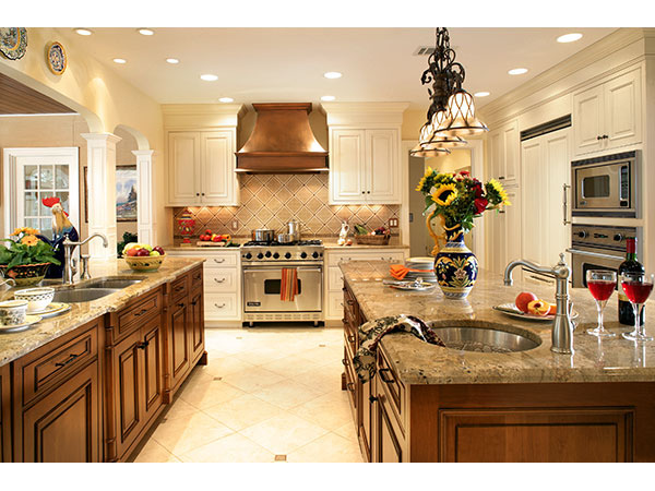 gourmet country kitchen designs photo - 6