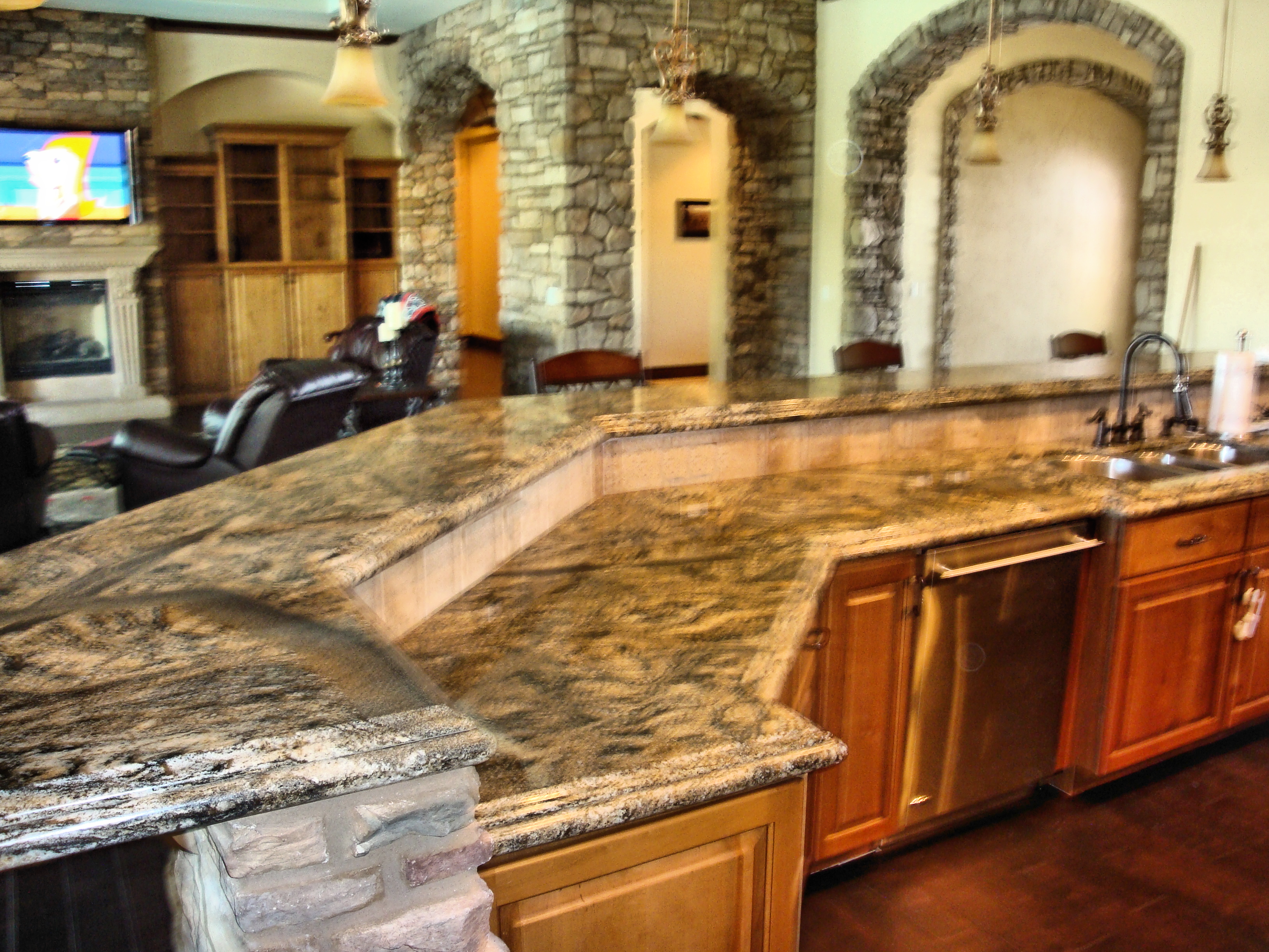 Kitchen Countertops Granite Interesting Granite Kitchen Countertops Colors 5780532 In Decor