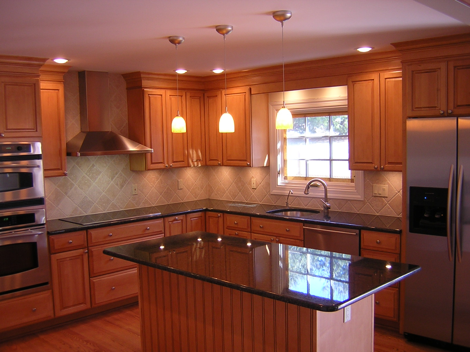 granite kitchen designs photo - 4