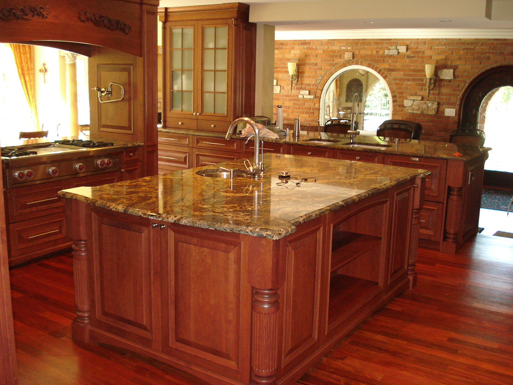 granite kitchen designs photo - 5