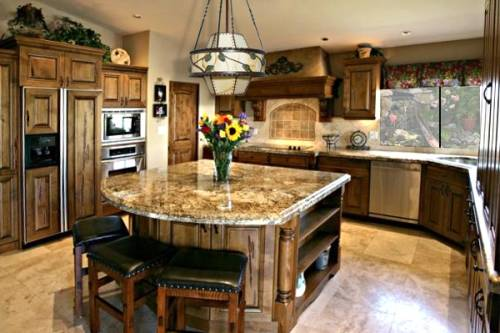 Granite kitchen island designs Interior Exterior Doors