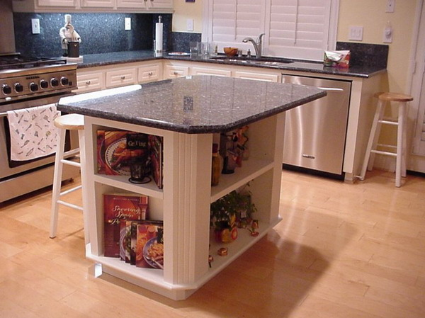 granite kitchen island designs photo - 4