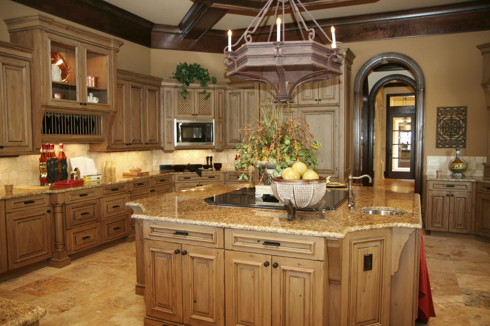 granite kitchen island designs photo - 5