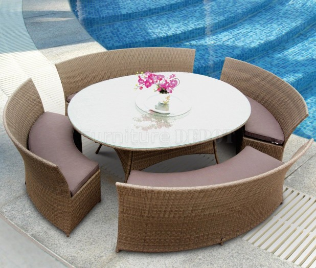 granite outdoor dining sets photo - 1