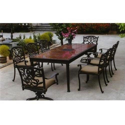 granite outdoor dining sets photo - 3