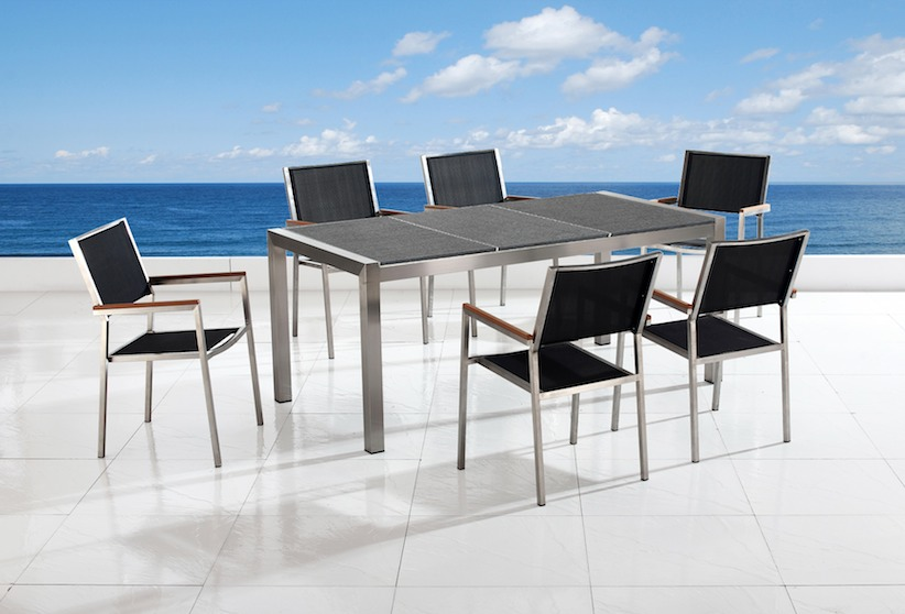 granite outdoor dining sets photo - 5