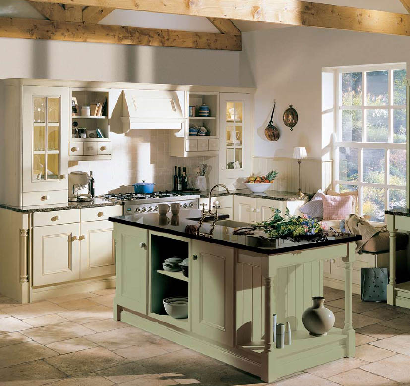 great country kitchen designs photo - 2