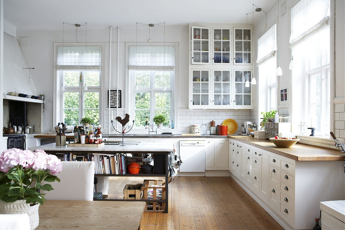 great country kitchen designs photo - 4