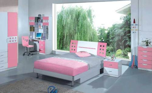 grey bedroom ideas for girls photo - 5