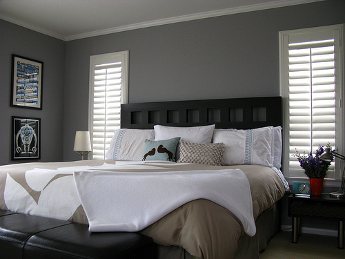 grey bedrooms ideas photo - 1