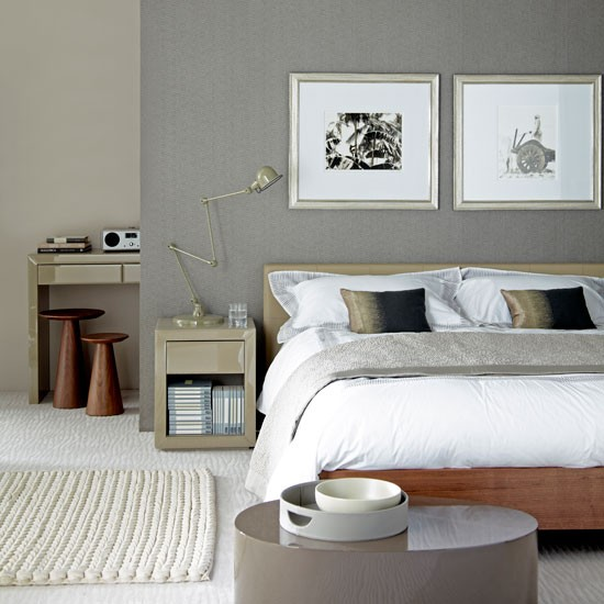 grey bedrooms ideas photo - 4