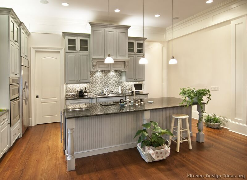 grey kitchen cabinets ideas photo - 2