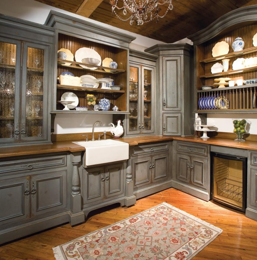 grey kitchen cabinets ideas photo - 3