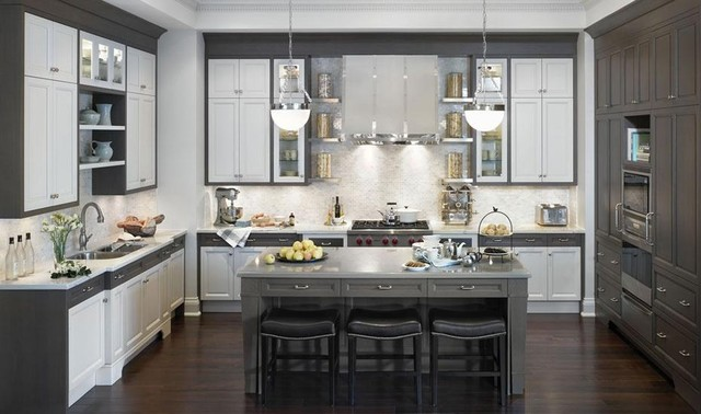 grey kitchen cabinets ideas photo - 6