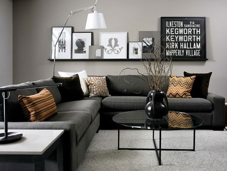 grey room design ideas photo - 2