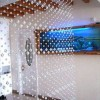 hanging crystal room divider photo - 4