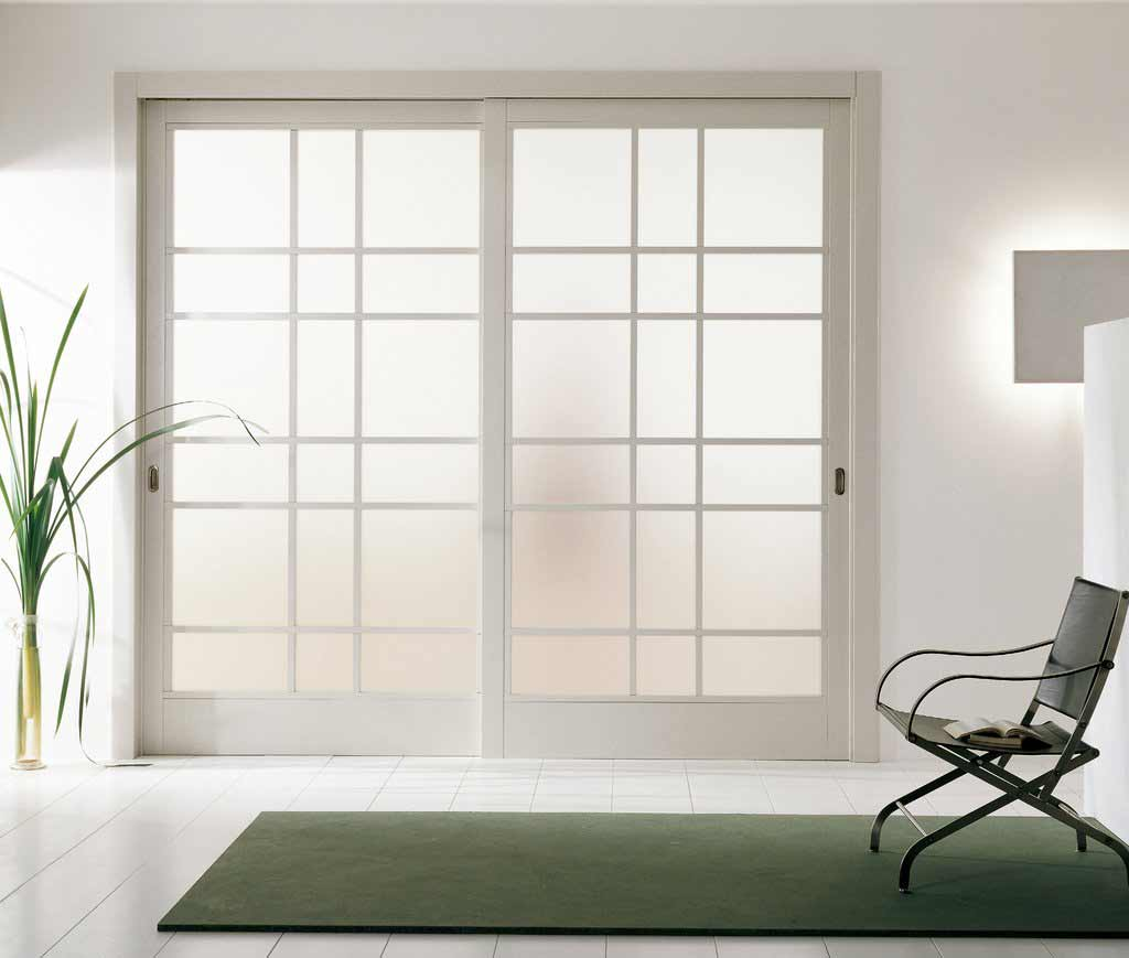 hanging door room divider photo - 4