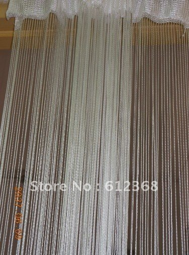 hanging room divider curtains photo - 6